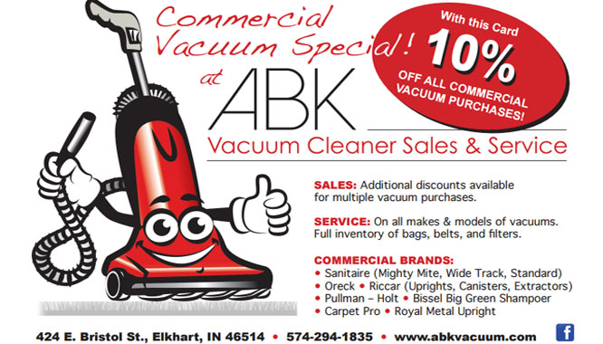 Javascript Welcome To ABK Vacuum Cleaner Sales